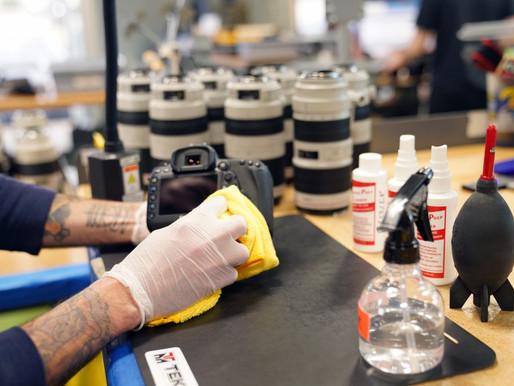 Videomaker: Aprenda a manter seus equipamentos desinfetados
