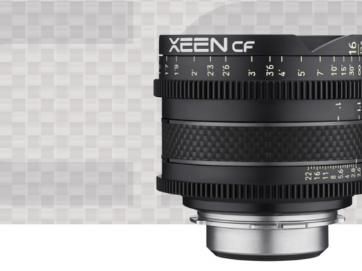 Lançamento: Lentes Xeen CF 16mm T2.6 e 35mm T1.5