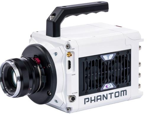 Câmera Phantom T1340 de alta velocidade de quatro megapixels anunciada