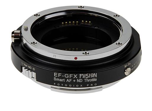Fotodiox anuncia novo Adaptador Canon para Fujifilm GFX Autofocus com ND variável