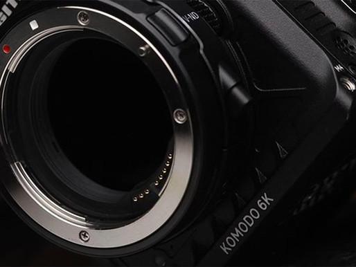 RED revela detalhes sobre o tamanho do sensor 6K da Komodo