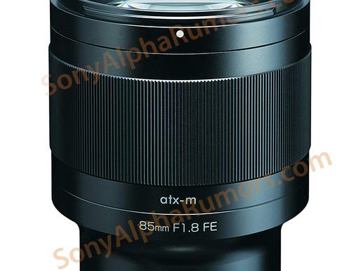 VAZOU: Esta é a nova lente Tokina ATX-M 85mm f/1.8 FE!