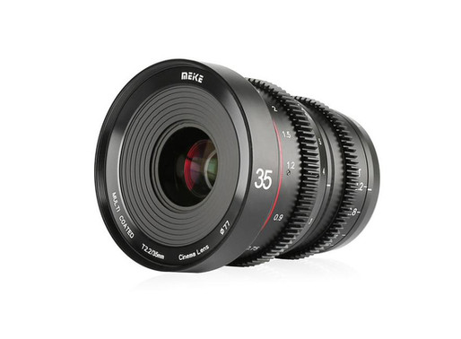 Anunciada lente cinematográfica Meike T2.2 de 35 mm para a Micro Quatro Terços