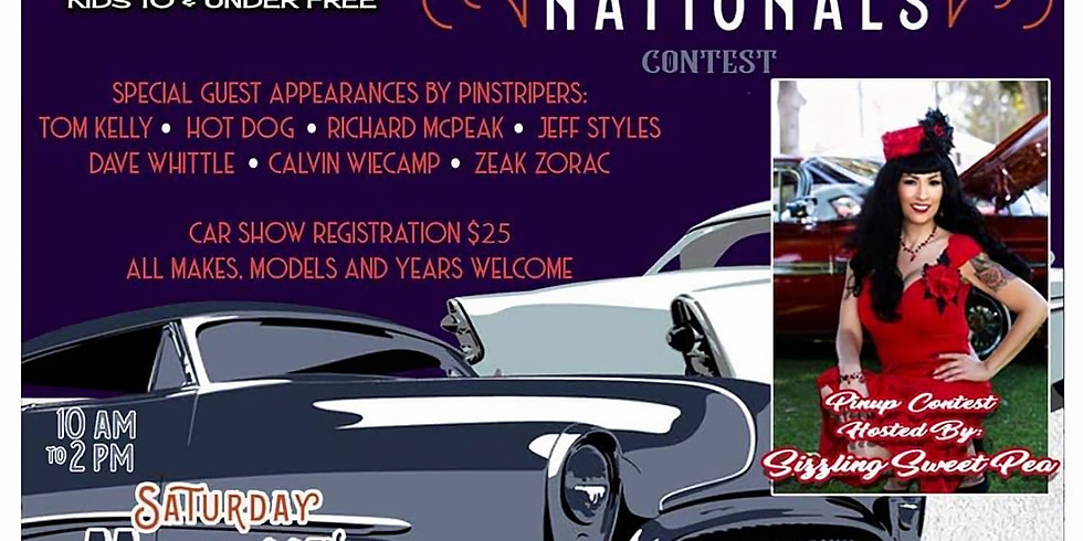 Riverside Nationals Car Show and Pin-Up Contest
