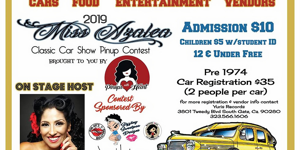 Miss Azalea Competition And Classic Car Show
