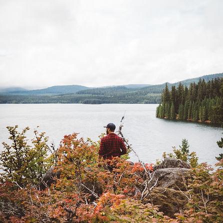 Lac et Mountians
