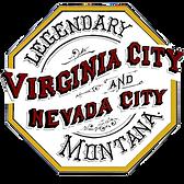 Virginia City Nevada City Montana Logo