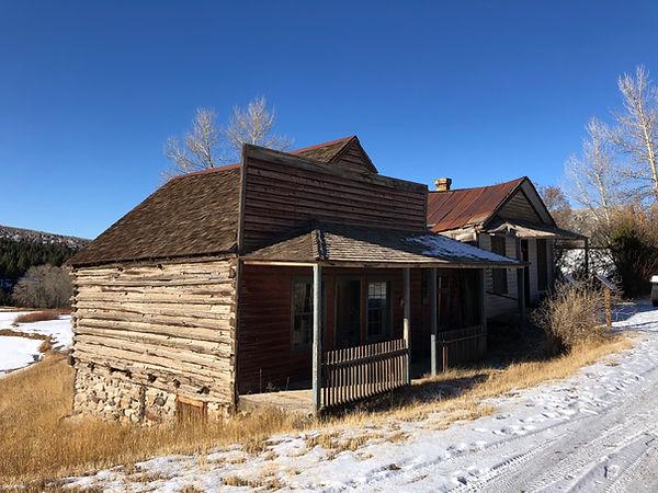 Cogswell-Taylor Cabins Sarah Bickford Virginia City, Montana