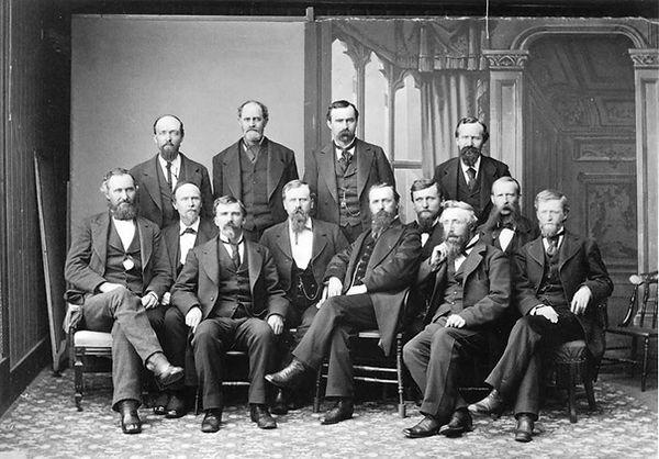 11th Montana Territorial Legislative Assembly Council 1879 Stonewall Hall Virginia City, Montana