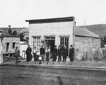 Hangman's Building 1902 Virginia City, Montana