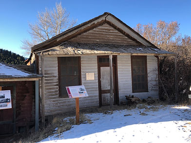 Coggswell-Taylor Cabins 2020 Sarah Bickford Virginia City, Montana
