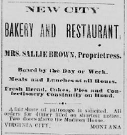 Sarah Bickford Madisonian advertisement 1880-1881
