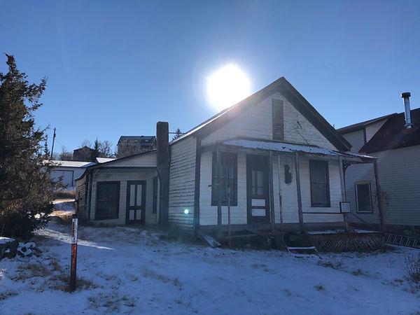Hickman residence Richard O Hickman Virginia City, Montana