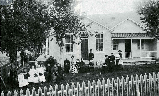 1892 Gilbert House Virginia City, Montana