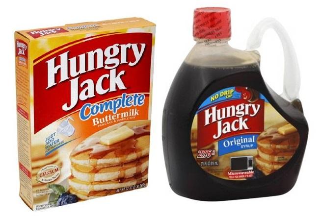 Pancake mix & cereals