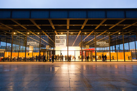 Neue Nationalgalerie outside