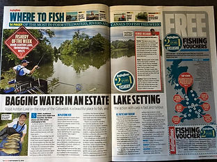 The Angling Times Review for Rood Ashton Lake