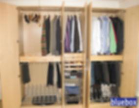 IKEA closet unit.