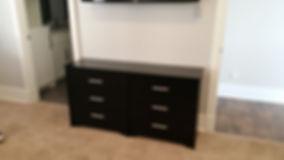 6-drawer IKEA dresser.