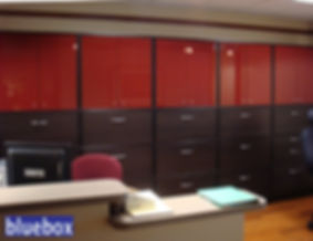Medical office Cabinetry.