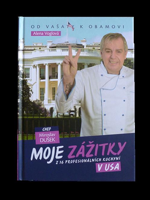 Autorská kniha - příběhy, biografie a kuchařka Míry Duška
