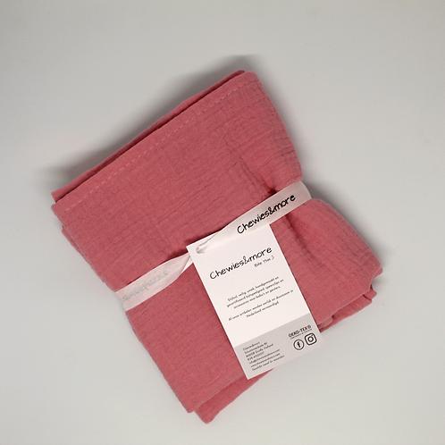 Swaddle doek 65 x 65 - Old Pink