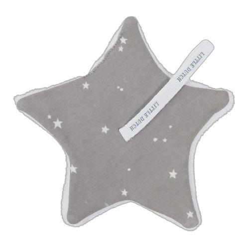 Speendoekje Little Stars Grey - Little Dutch