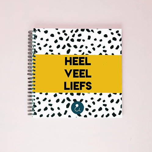Kraambezoekboek - Oker geel