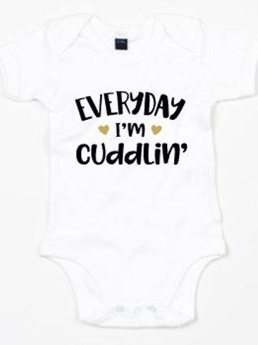 Romper - Everyday I'm Cuddlin'