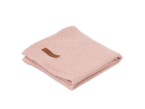 Swaddle doek 120 x 120 - Pure Pink - Little Dutch