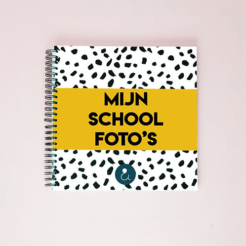 Mijn schoolfoto's - Okergeel