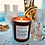 Thumbnail: NJ Living Namastayin Natural Wax Candle - Sandalwood & Amber