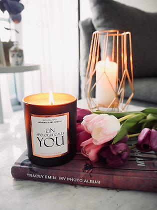 NJ Living Unapologetically You Natural Wax Candle - Jasmine & Patchouli