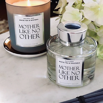NJ Living Mother Like No Other Natural Wax Candle - White Tea & Wisteria