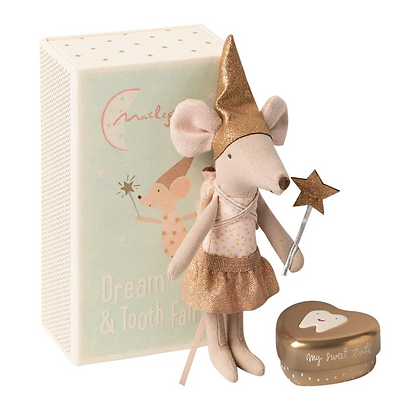 Maileg Tooth Fairy Mouse in Matchbox - Big Sister