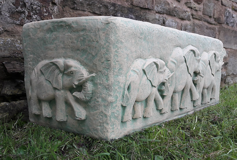 Large Elephant Planter