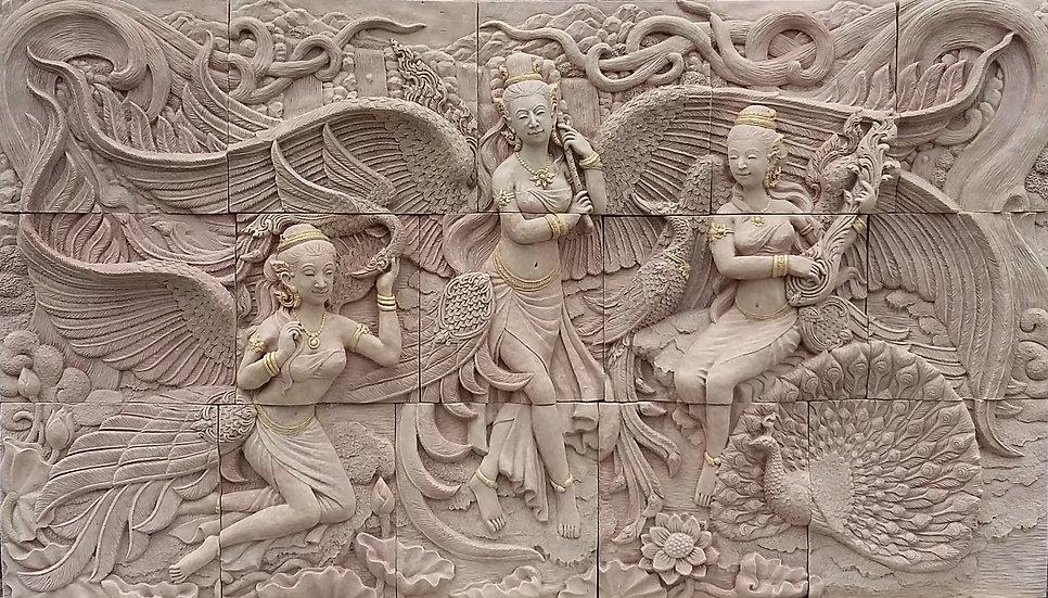 Large Winged Deities