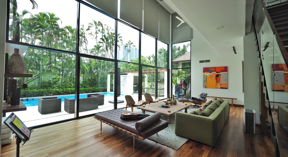 Formal Living Hall Viewing From Main Entrance