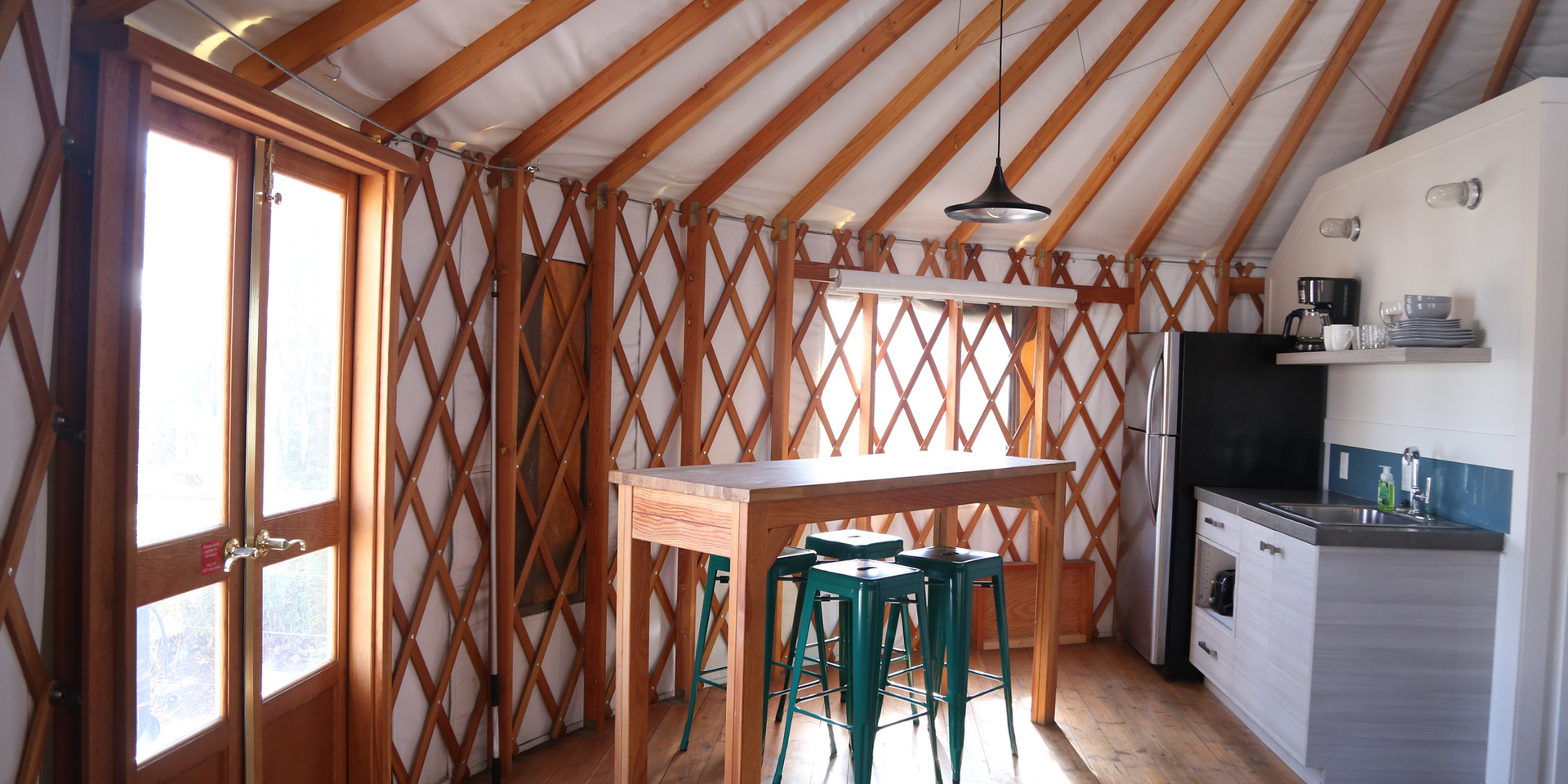 1 bedroom yurt