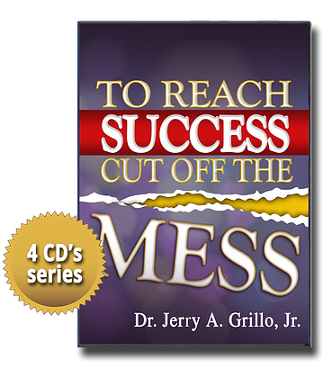 To Reach Success, Cut Off The Mess