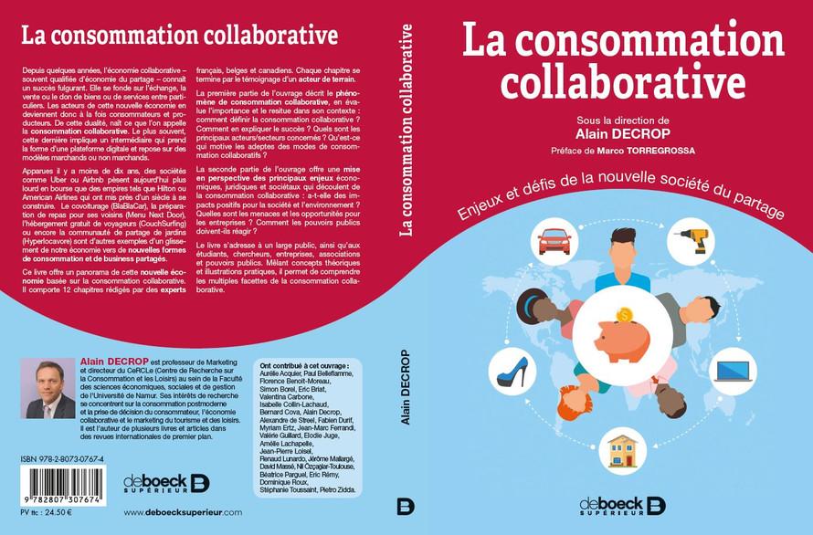 La consommation collaborative : Enjeux et défis de la nouvelle société du partage (sous la direction