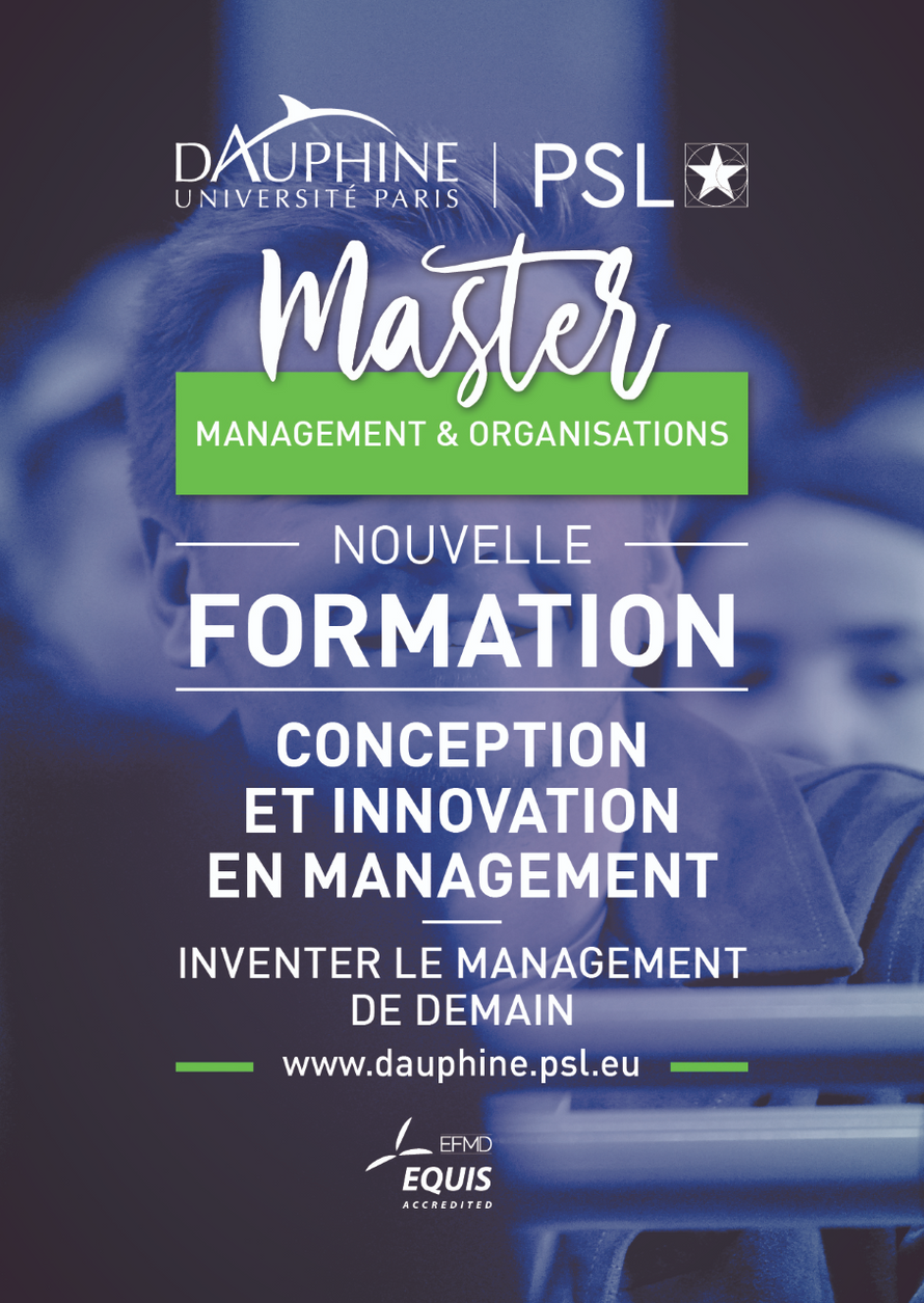 Inventer le management de demain. Nouvelle formation