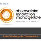 School'Challenge : un kit pédagogique pour former à l'innovation en management