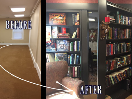 How to Live in a Book: Part Four | Creating a Secret Bookcase Door to a Castle Room