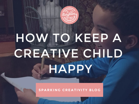 How to Keep a Creative Child Happy