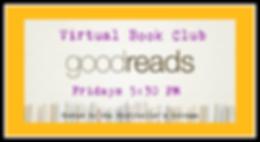 GoodReads Virtual Book Club Event Cover