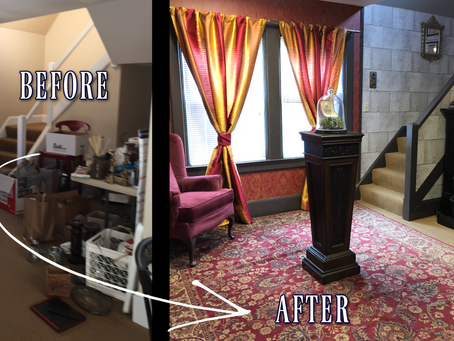 How to Live in a Book: Part Three | Creating a Magical Common Room Inspired by Harry Potter