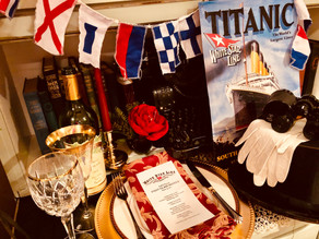 """How to Host a """"Last Night on the Titanic"""" Dinner Party"""