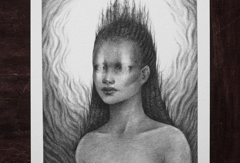 'A Goddess' Limited Edition Print
