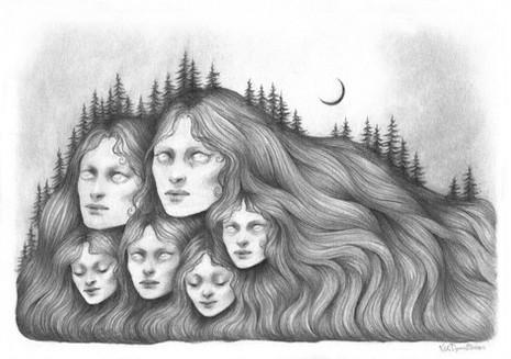 'Where the Hills Remember' by Vilde Dyrnes Ulriksen | Mokinzi Art
